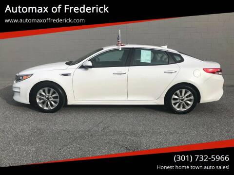 2016 Kia Optima for sale at Automax of Frederick in Frederick MD