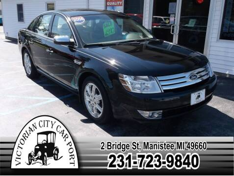 2008 Ford Taurus for sale at Victorian City Car Port INC in Manistee MI