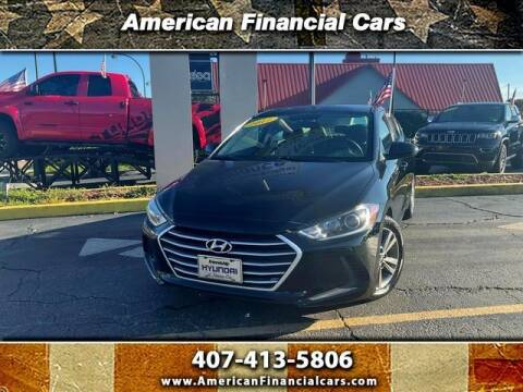 2017 Hyundai Elantra for sale at American Financial Cars in Orlando FL