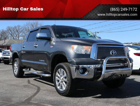 2011 Toyota Tundra for sale at Hilltop Car Sales in Knox TN