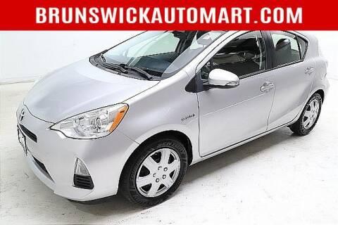 2014 Toyota Prius c for sale at Brunswick Auto Mart in Brunswick OH