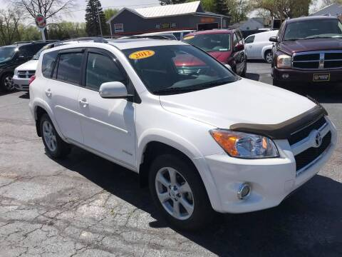 2012 Toyota RAV4 for sale at Huggins Auto Sales in Ottawa OH