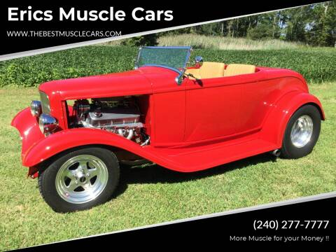 1932 Ford Roadster for sale at Erics Muscle Cars in Clarksburg MD