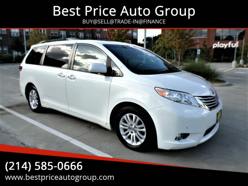 2012 Toyota Sienna for sale at Best Price Auto Group in Mckinney TX