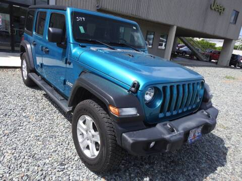 2020 Jeep Wrangler Unlimited for sale at Caribbean Auto Mart in St Thomas VI