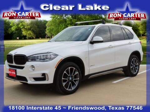 2017 BMW X5 for sale at Ron Carter  Clear Lake Used Cars in Houston TX