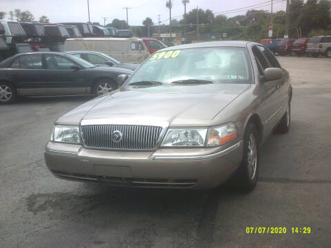 2005 Mercury Grand Marquis for sale at M & M Inc. of York in York PA