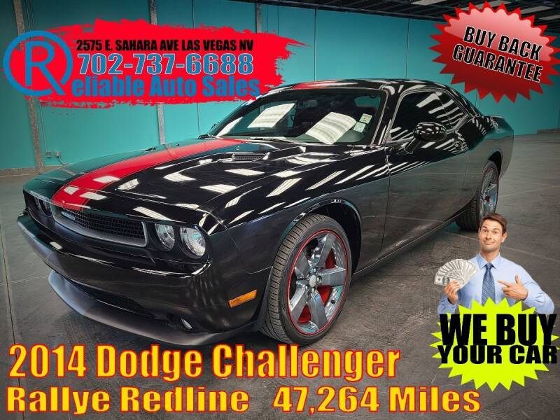 2014 Dodge Challenger for sale at Reliable Auto Sales in Las Vegas NV