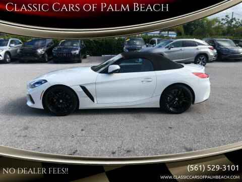 2019 BMW Z4 for sale at Classic Cars of Palm Beach in Jupiter FL