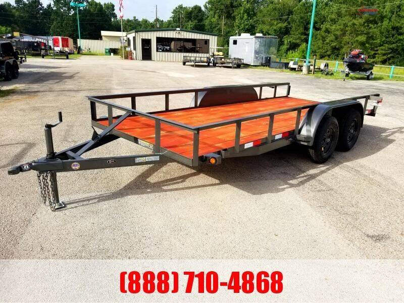 "2021 C-5 76"" X 16' Bumper Pull Lowboy for sale at Montgomery Trailer Sales in Conroe TX"