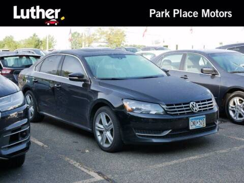 2014 Volkswagen Passat for sale at Park Place Motor Cars in Rochester MN
