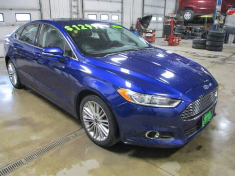 2014 Ford Fusion for sale at Granite Auto Sales in Redgranite WI