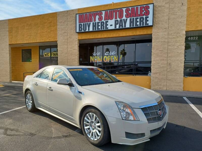 2011 Cadillac CTS for sale at Marys Auto Sales in Phoenix AZ