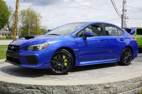 2018 Subaru WRX for sale at Platinum Motors LLC in Heath OH