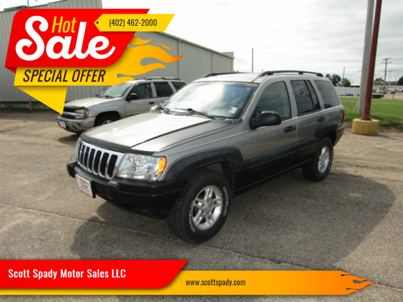 2002 Jeep Grand Cherokee for sale at Scott Spady Motor Sales LLC in Hastings NE
