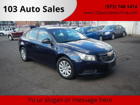 2011 Chevrolet Cruze for sale at 103 Auto Sales in Bloomfield NJ