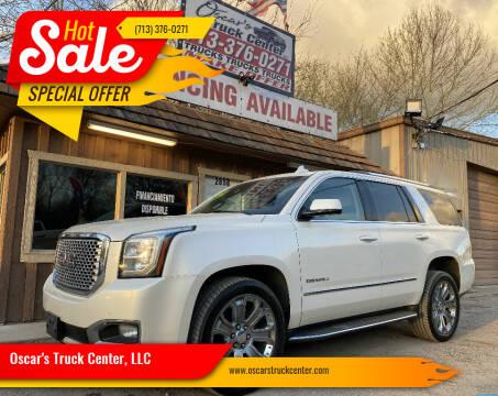 2015 GMC Yukon for sale at Oscar's Truck Center, LLC in Houston TX