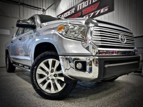 2014 Toyota Tundra for sale at Carder Motors Inc in Bridgeport WV