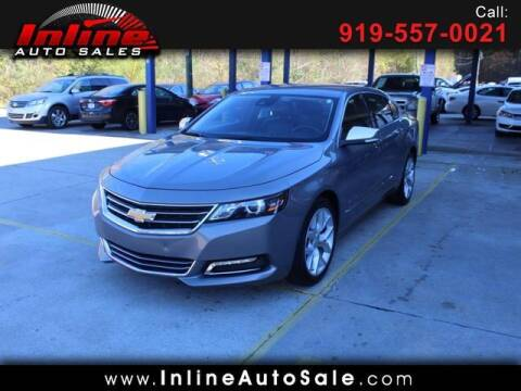 2017 Chevrolet Impala for sale at Inline Auto Sales in Fuquay Varina NC