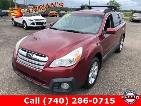 2013 Subaru Outback for sale at Carmans Used Cars & Trucks in Jackson OH