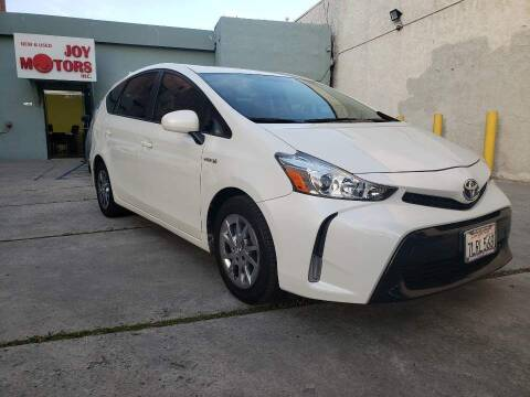 2015 Toyota Prius v for sale at Joy Motors in Los Angeles CA