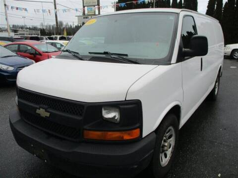 2013 Chevrolet Express Cargo for sale at GMA Of Everett in Everett WA