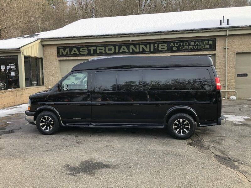 2010 Chevrolet Express Cargo for sale at Mastroianni Auto Sales in Palmer MA