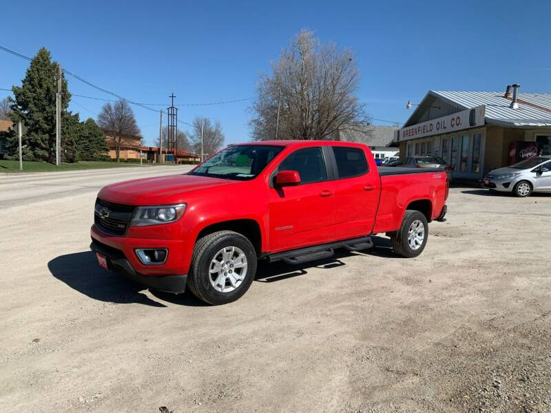 2017 Chevrolet Colorado for sale at GREENFIELD AUTO SALES in Greenfield IA