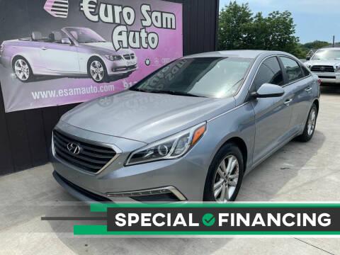 2015 Hyundai Sonata for sale at Euro Auto in Overland Park KS