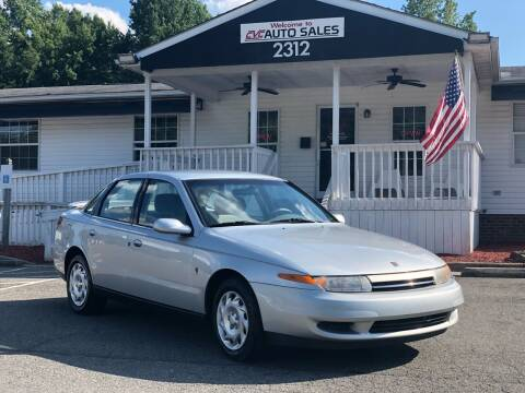 2001 Saturn L-Series for sale at CVC AUTO SALES in Durham NC