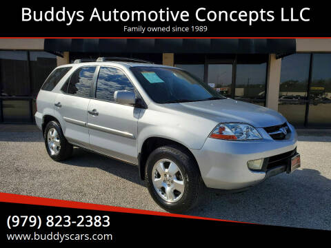 2003 Acura MDX for sale at Buddys Automotive Concepts LLC in Bryan TX