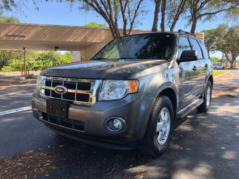 2012 Ford Escape for sale at Internet Motorcars LLC in Fort Myers FL