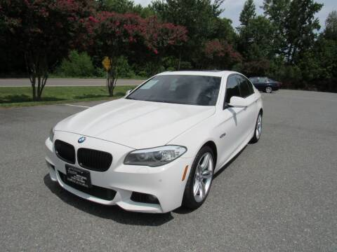 2013 BMW 5 Series for sale at Pristine Auto Sales in Monroe NC