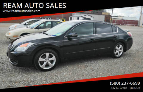 2008 Nissan Altima for sale at REAM AUTO SALES in Enid OK