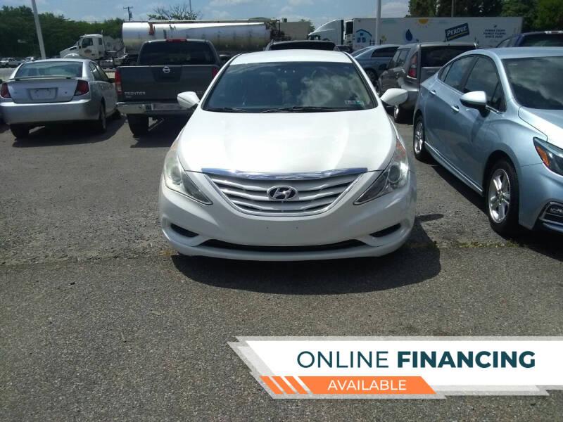 2013 Hyundai Sonata for sale at Marino's Auto Sales in Laurel DE
