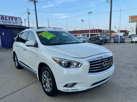 2015 Infiniti QX60 for sale at Quality Auto Sales LLC in Garland TX
