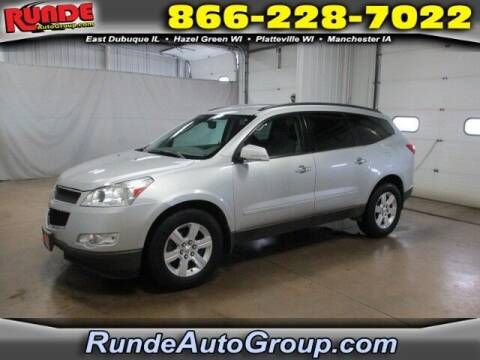 2012 Chevrolet Traverse for sale at Runde Chevrolet in East Dubuque IL