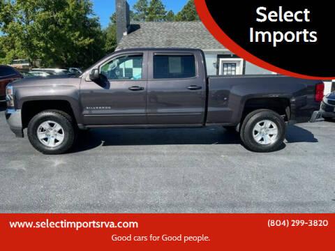 2016 Chevrolet Silverado 1500 for sale at Select Imports in Ashland VA