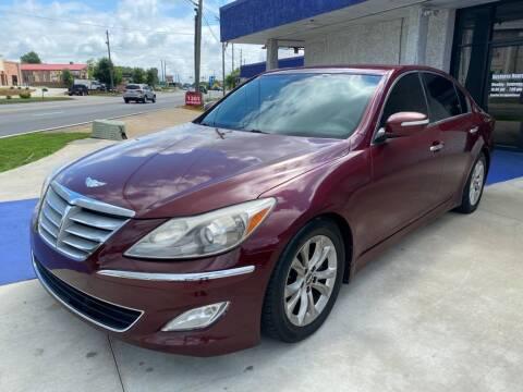 2012 Hyundai Genesis for sale at El Camino Auto Sales Gainesville in Gainesville GA