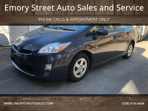 2010 Toyota Prius for sale at Emory Street Auto Sales and Service in Attleboro MA