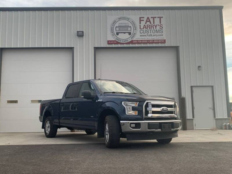2017 Ford F-150 for sale at Fatt Larry's Customs in Sugar City ID