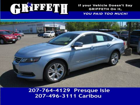 2014 Chevrolet Impala for sale at Griffeth Mitsubishi - Pre-owned in Caribou ME