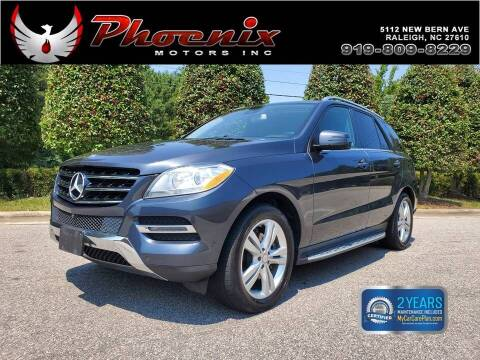 2014 Mercedes-Benz M-Class for sale at Phoenix Motors Inc in Raleigh NC