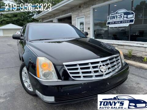 2008 Cadillac DTS for sale at Tonys Auto Sales Inc in Wheatfield IN