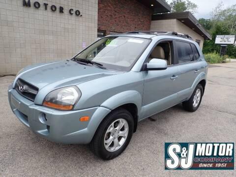 2009 Hyundai Tucson for sale at S & J Motor Co Inc. in Merrimack NH