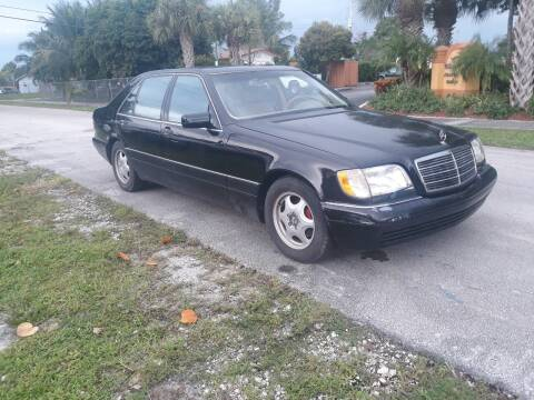 1998 Mercedes-Benz S-Class for sale at LAND & SEA BROKERS INC in Deerfield FL