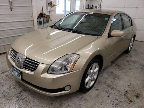 2004 Nissan Maxima for sale at Jem Auto Sales in Anoka MN