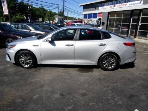 2019 Kia Optima for sale at American Auto Group Now in Maple Shade NJ