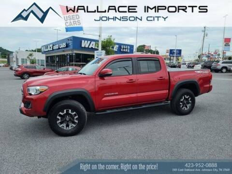 2017 Toyota Tacoma for sale at WALLACE IMPORTS OF JOHNSON CITY in Johnson City TN