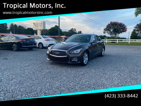 2016 Infiniti Q50 for sale at Tropical Motors, Inc. in Riceville TN